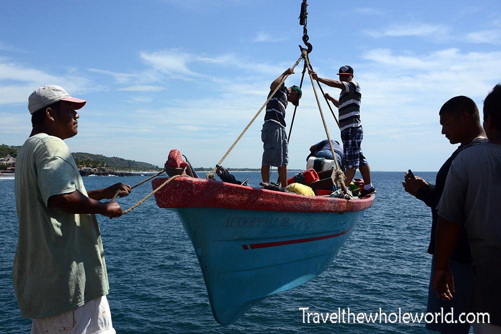 El Salvador Libertad Fishing Boat