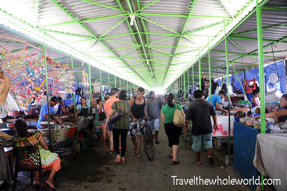 El Salvador Libertad Fish Market