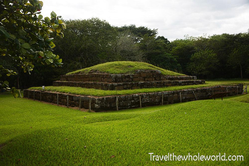 El Salvador San Andrés Old Pyramid