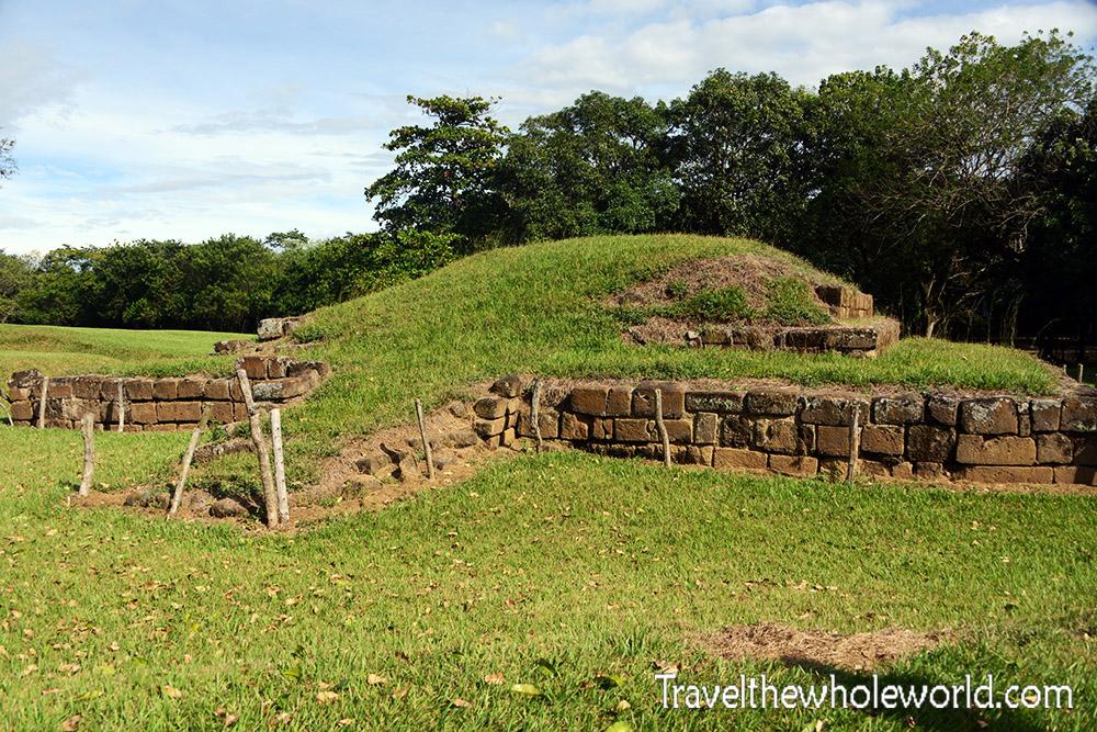 El Salvador San Andrés Pyramid