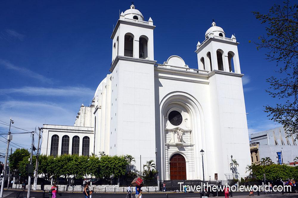 El Salvador San Salvador National Cathedral
