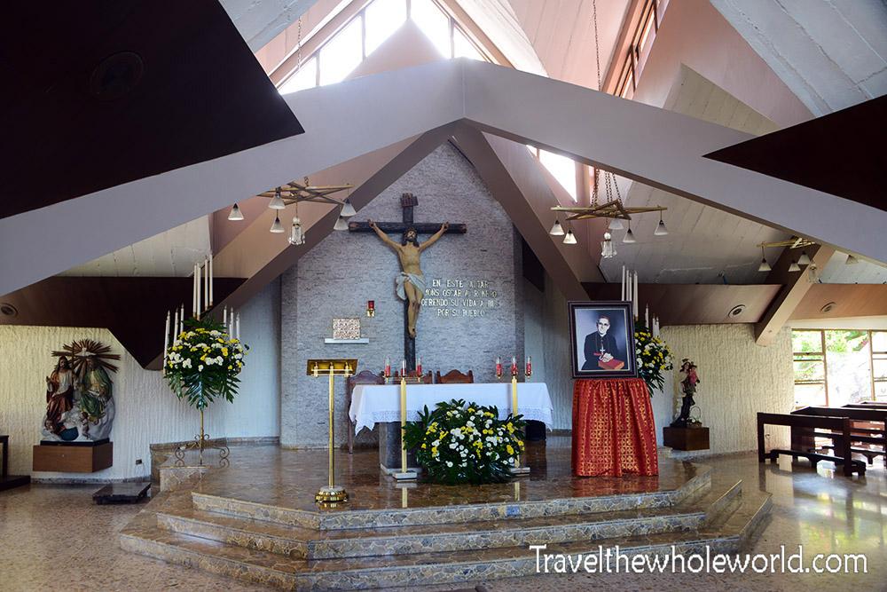 El Salvador San Salvador Divine Chapel