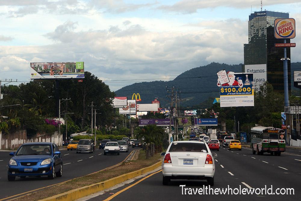 El Salvador San Salvador Entrance