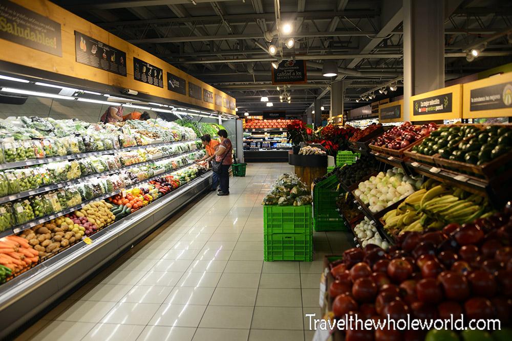 El Salvador San Salvador Grocery Store