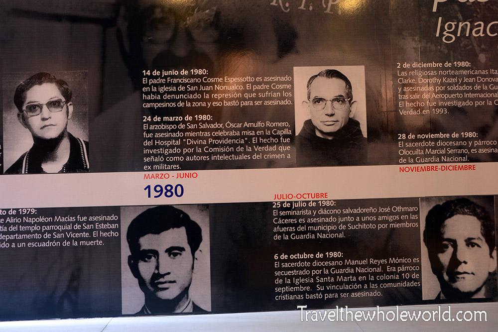 El Salvador San Salvador Martyrs Civil War