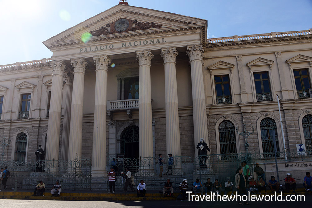 El Salvador San Salvador National Palace