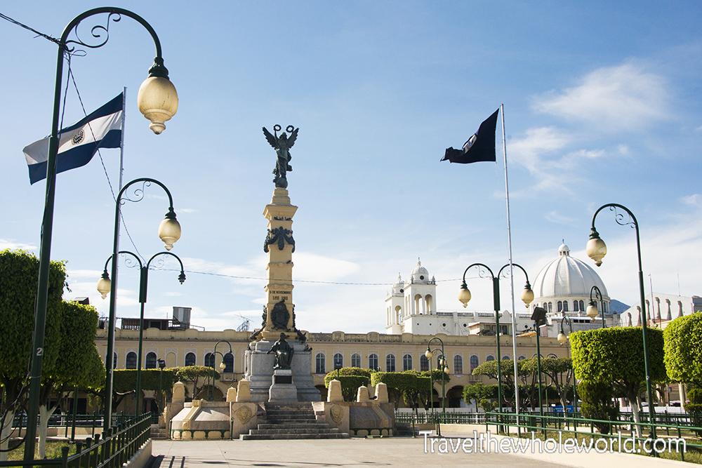 El Salvador San Salvador Plaza Independencia