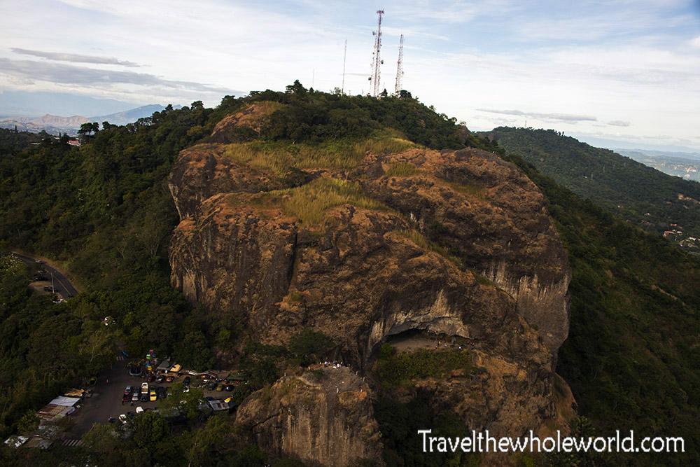 El Salvador San Salvador Puerto Diablo Rock
