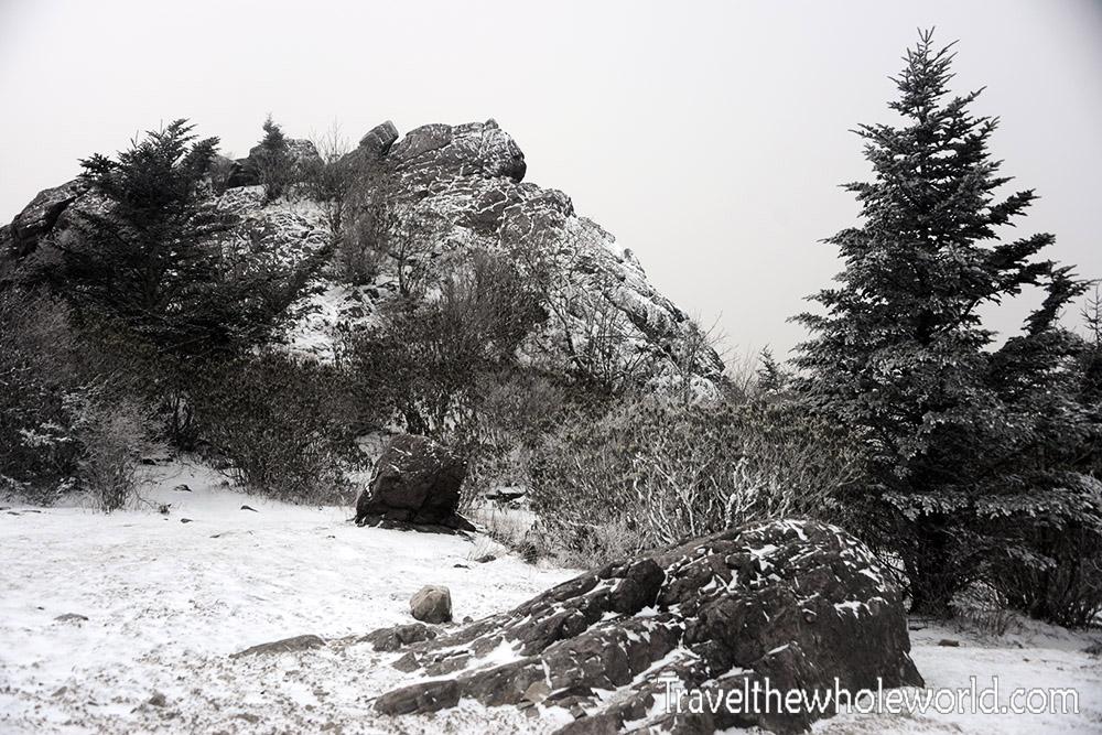 Virginia Mt. Rogers Rocks Winter