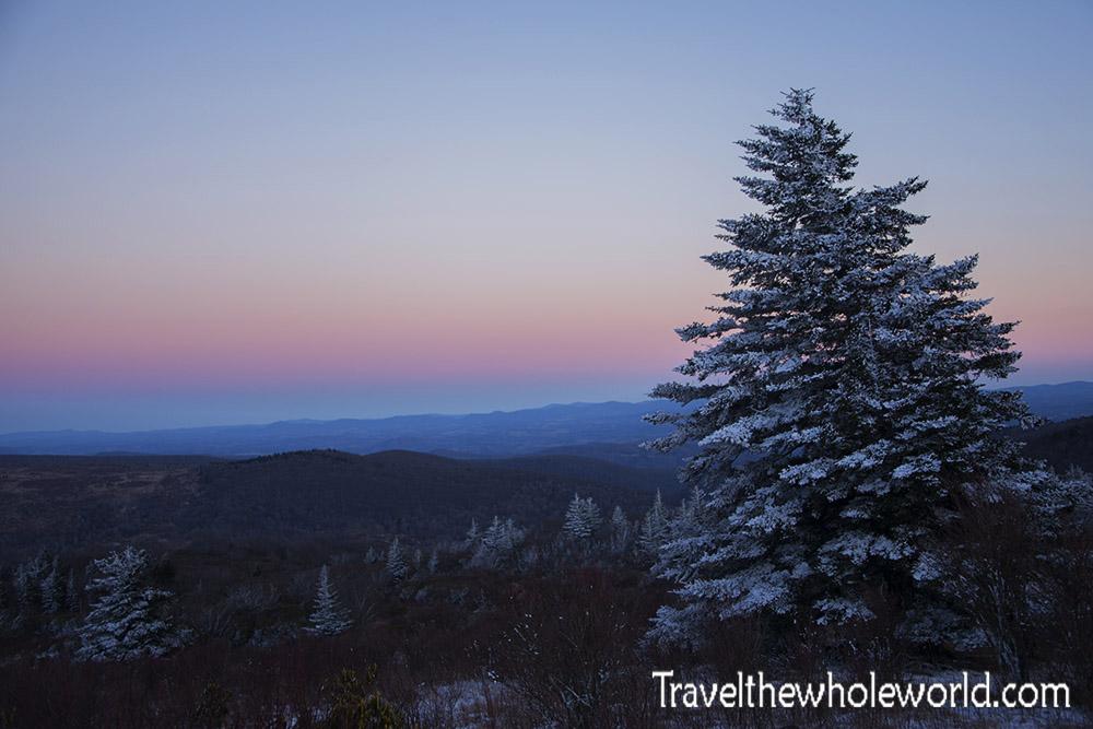 Virginia Mt. Rogers Twilight