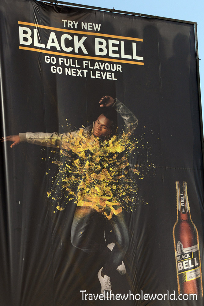 Kampala Black Bell Beer Advertisement
