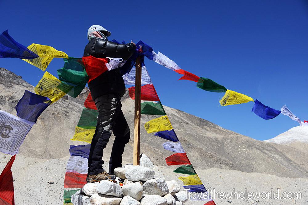 Everest Tibet Puja Flags