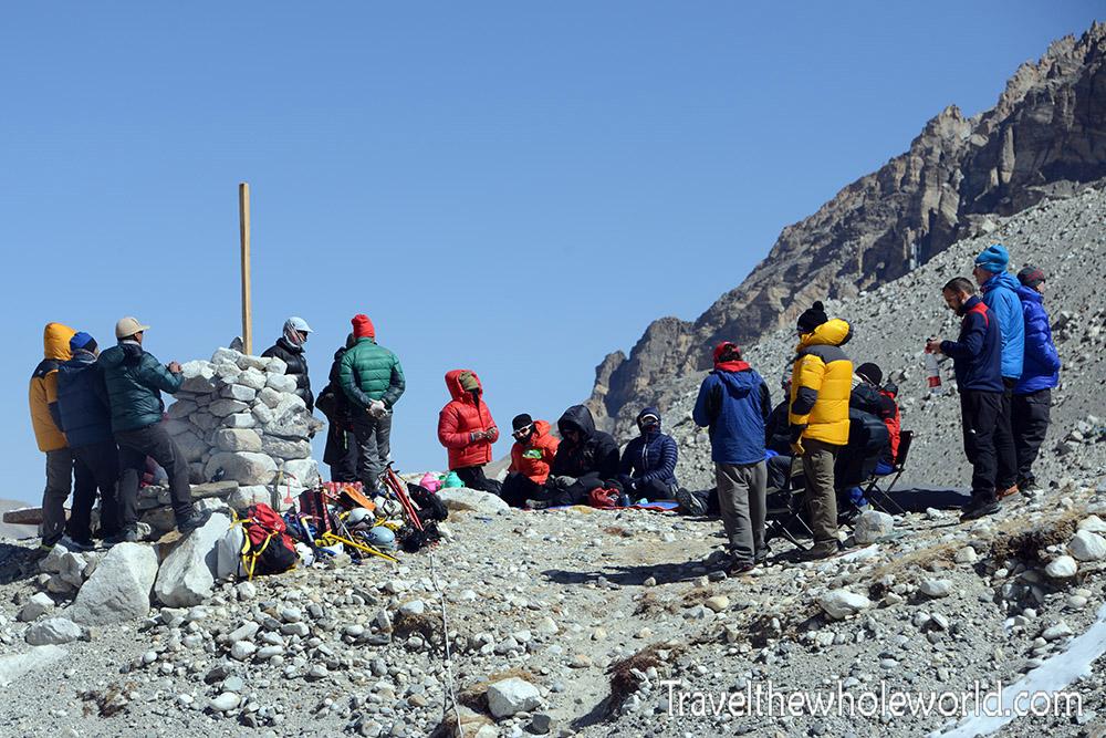 Tibet Mt. Everest Puja Ceremony