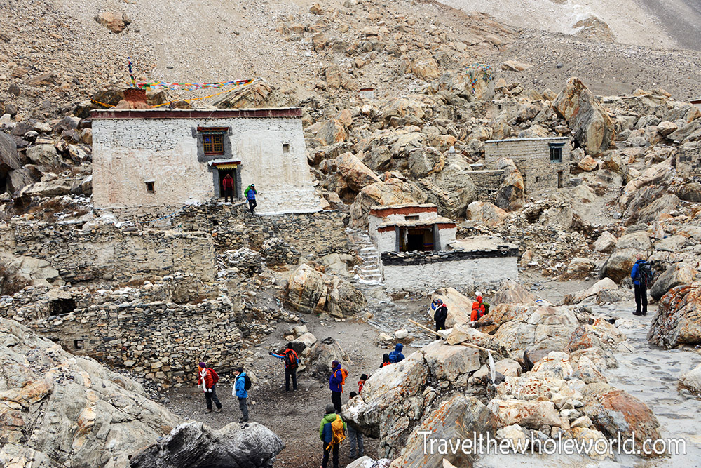 Tibet Rongpu Monastery Highest in the World