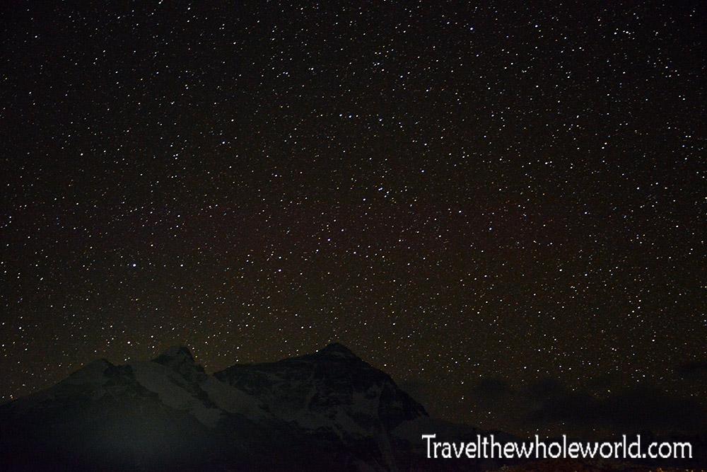 Tibet Mt. Everest Night Starry Stars