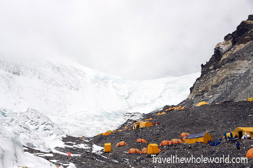 Everest Advanced Base Camp North Col