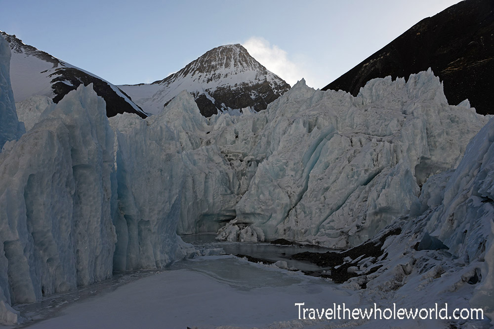 Everest Tibet Ice Formations