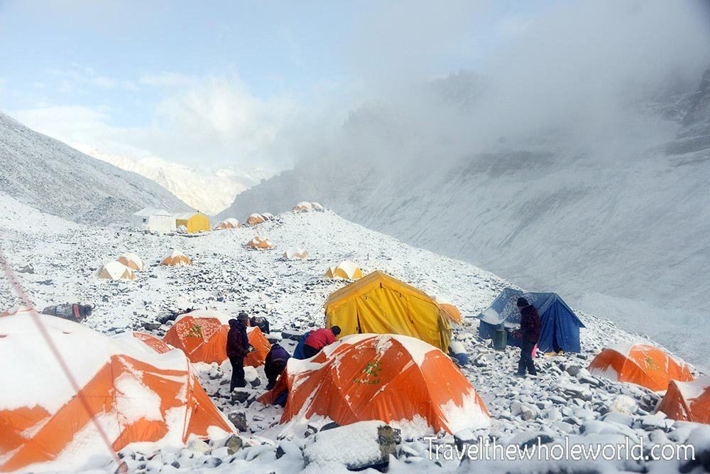 Mt. Everest Tibet Interim Base Camp
