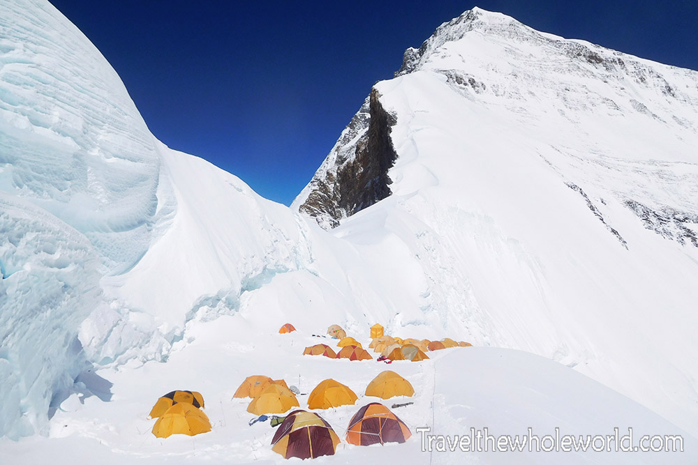 Everest North Col Camp I