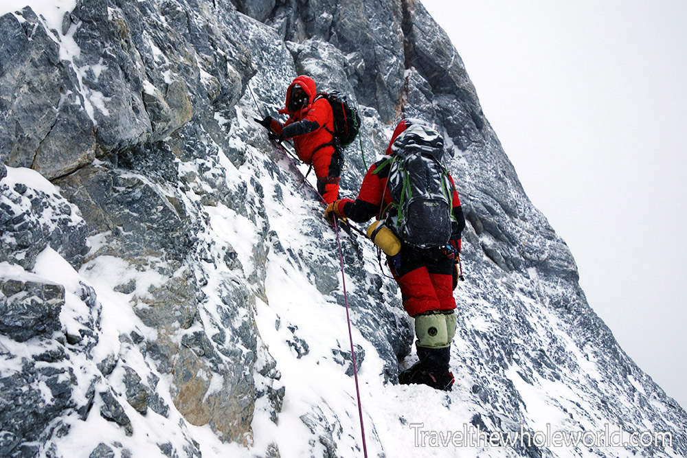 Mt Everest Tibet Final Push Summit