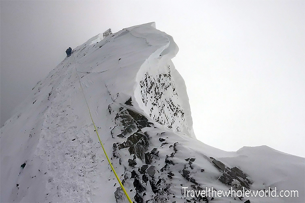 Everest Tibet Summit Ridge