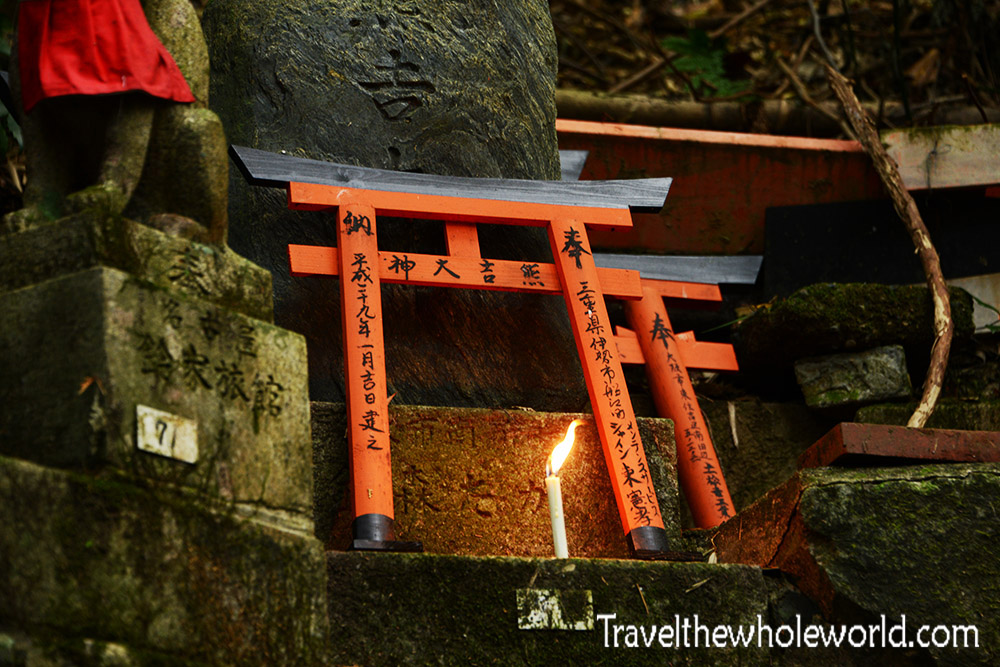 Fushii Inari Taisha Grave Candle