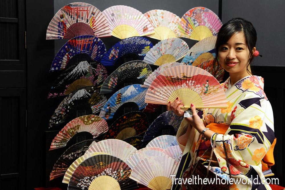 Japan Kyoto Geisha Japanese Fan