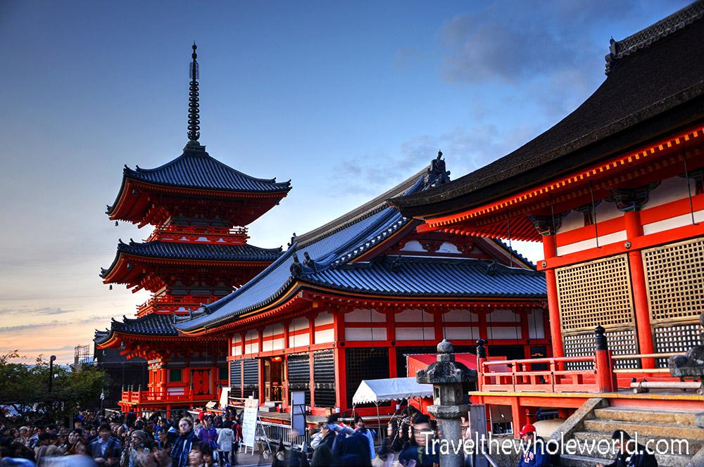Japan Kiyomizu Dera Temple