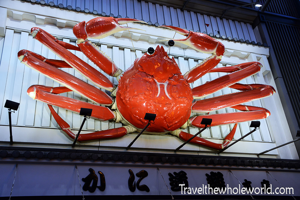Dotonbori Giant Crab Japan