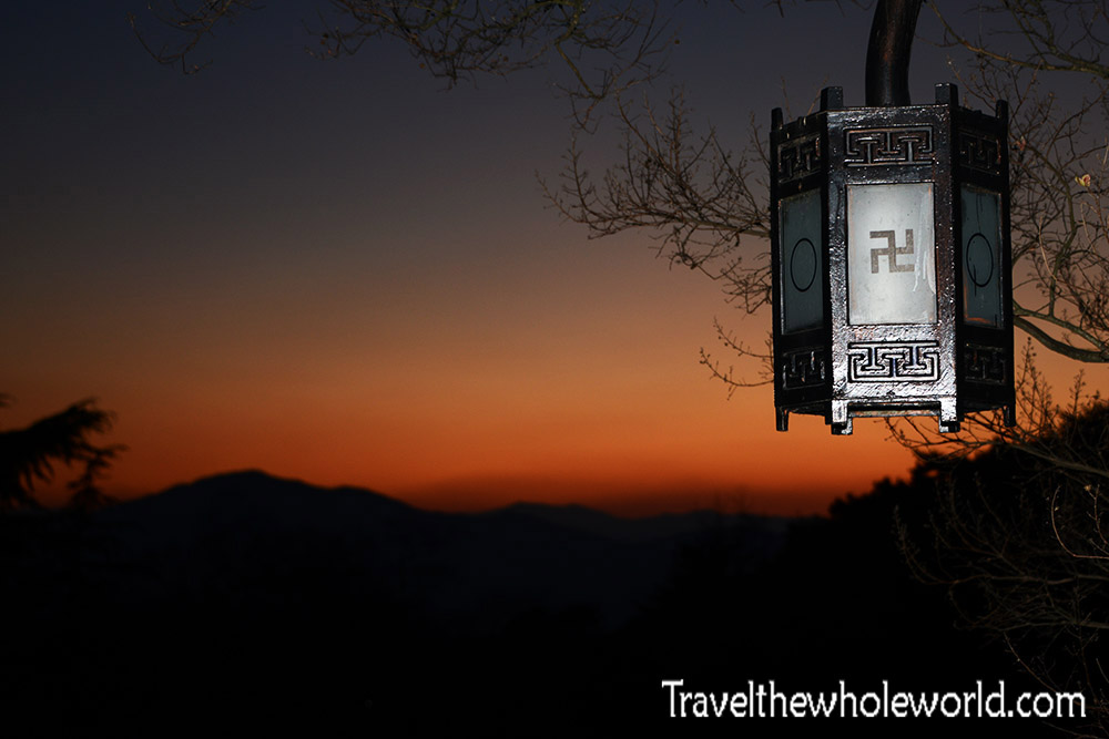 South Korea Gyeongju Bulguska Sunset