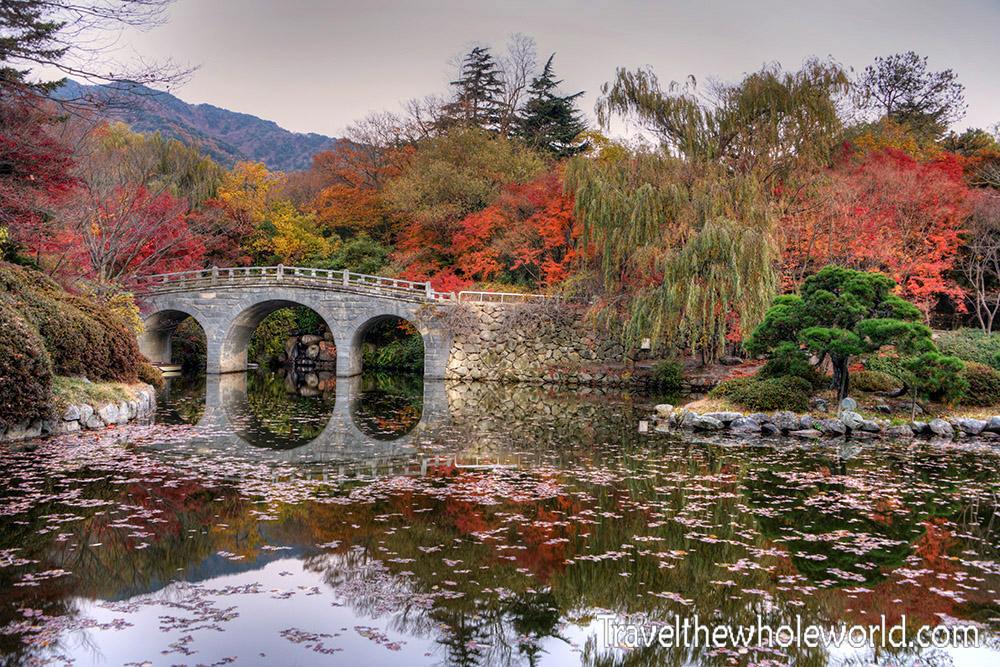 South Korea Gyeongju Bulguska Bridge