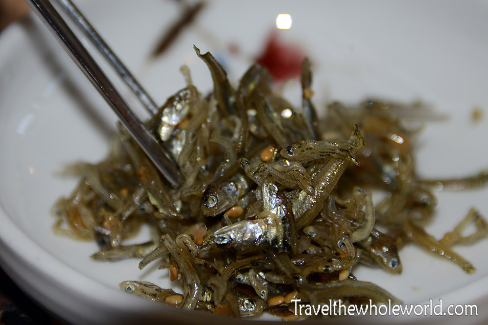 Korean Fish Appetizer