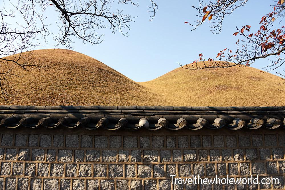 South Korea Gyeongju Royal Tombs