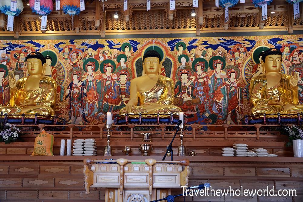 South Korea Naejangsan Temple Buddha