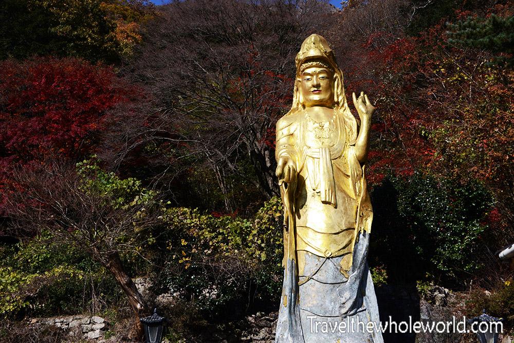 Wonjeokam Buddha Statue
