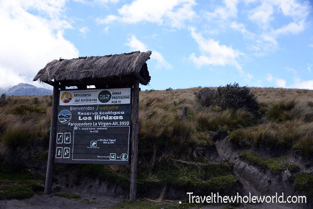 Ecuador Illiniza Entrance