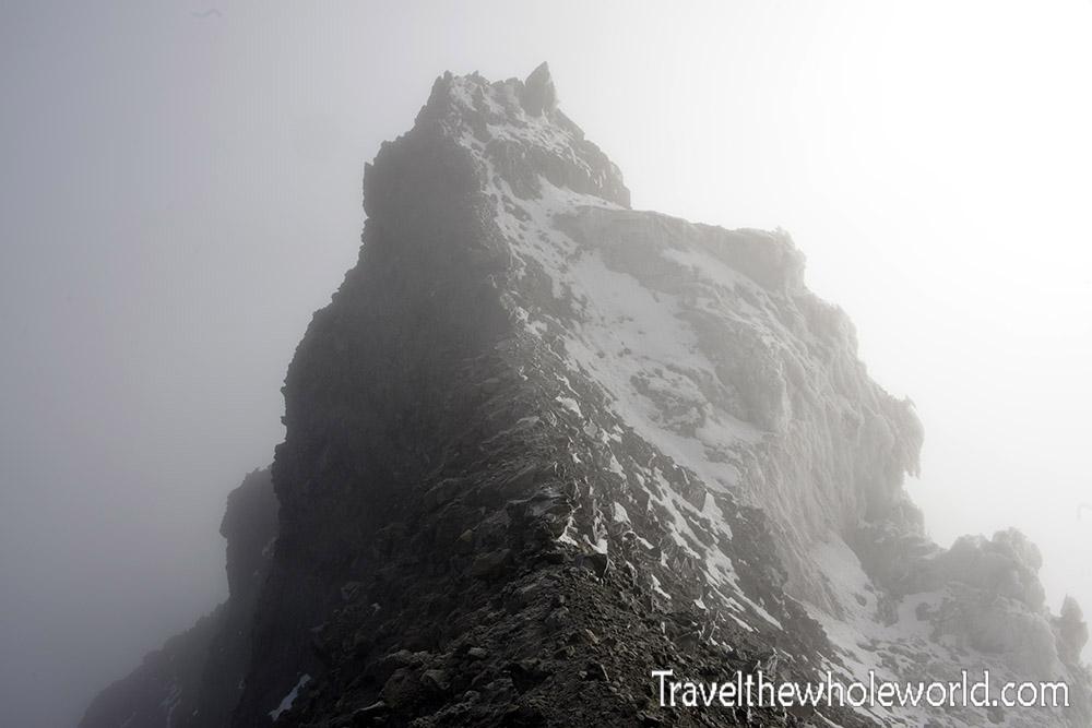 Ecuador Illiniza Sur Ridge