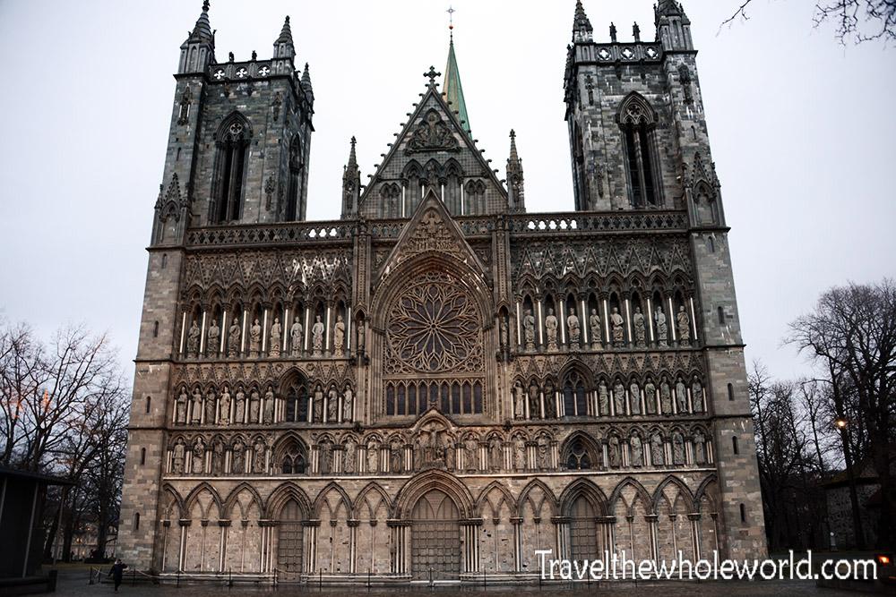 Trondheim Nidaros Cathedral West Front