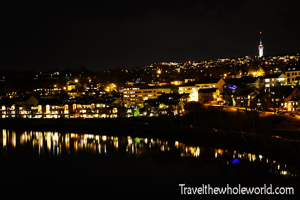Norway Trondheim Night