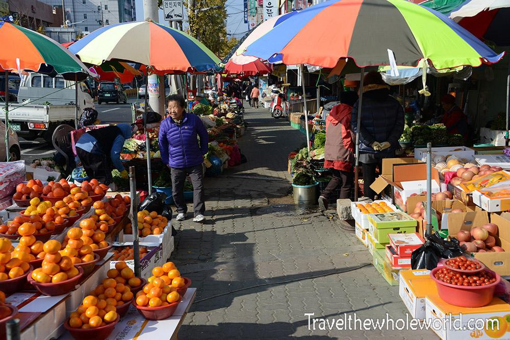 Korean Outdoor Market Gyeongju