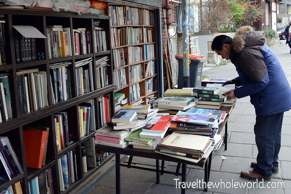 Seoul Korea Bookstore