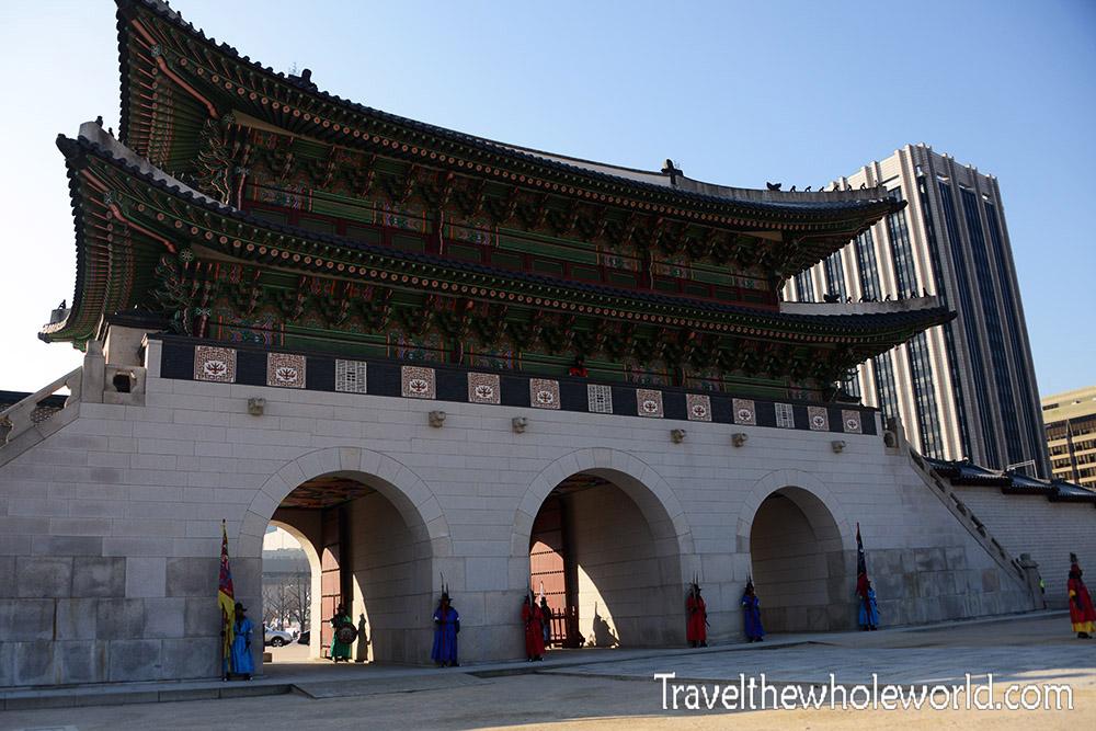 Gyeongbokgung Palace Gwanghwamun Gate