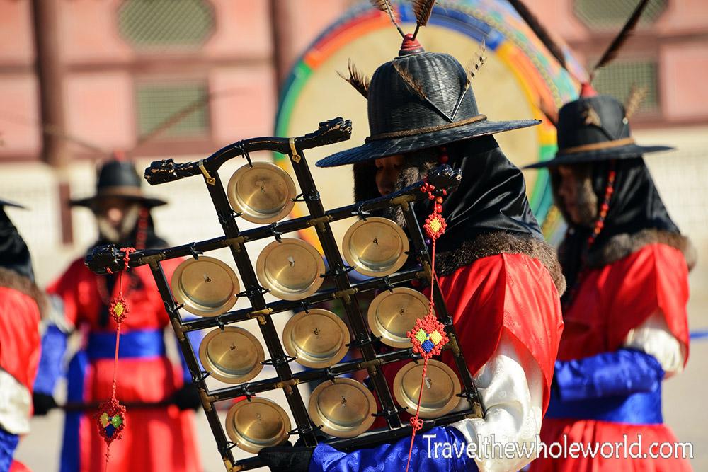 Gyeongbokgung Drummer