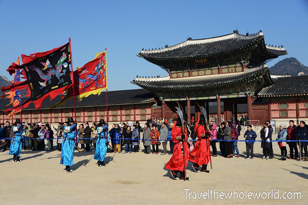 Korean Palace Guards