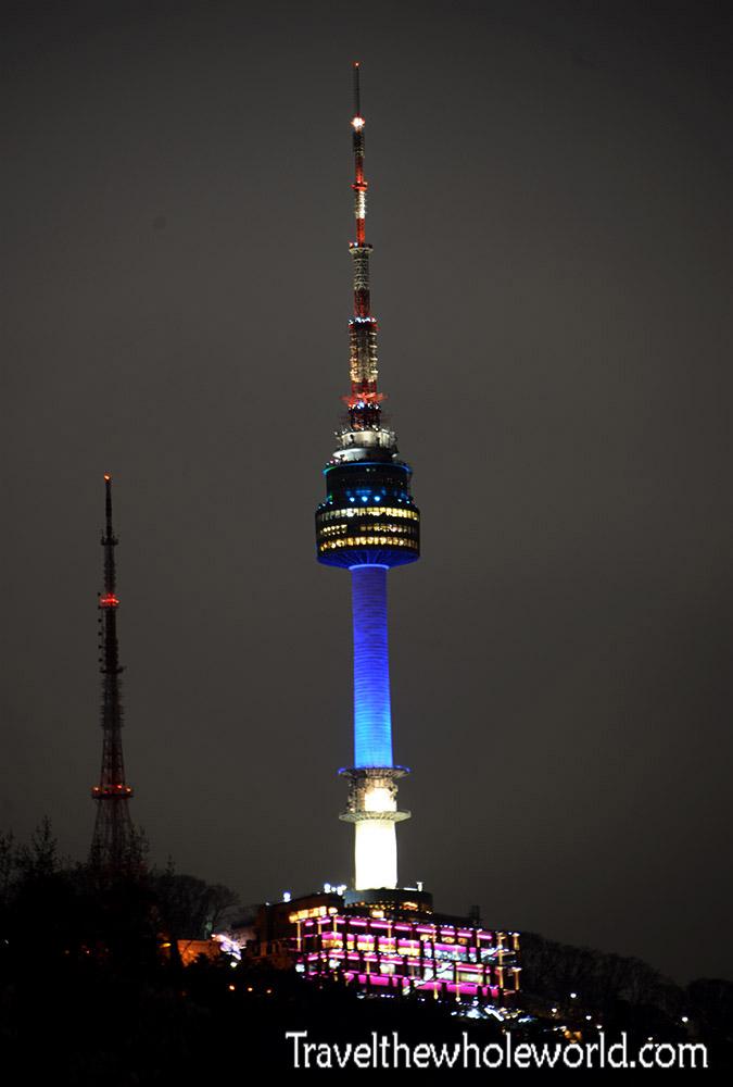 South Korea Seoul Tower