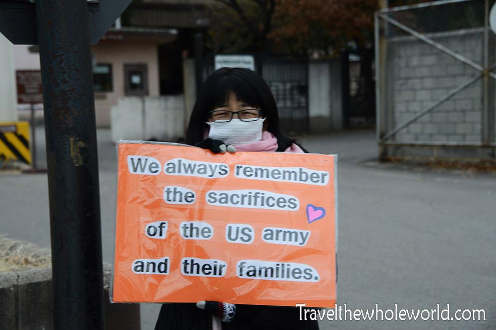 Seoul Korea US Support