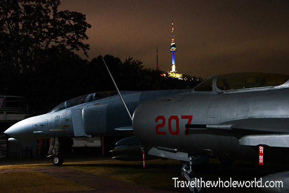 Korea War Museum Aircraft