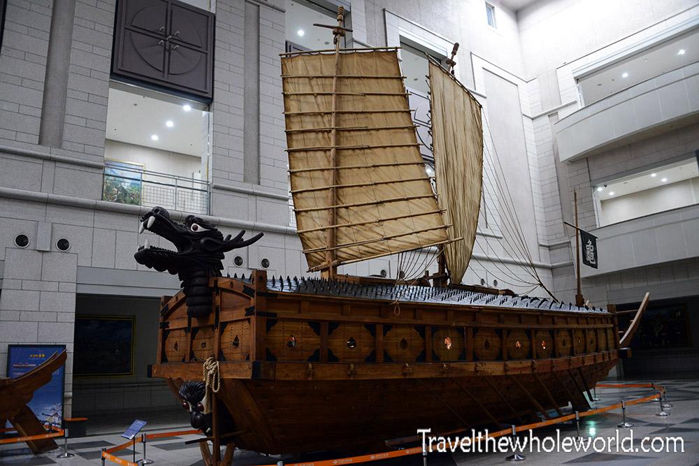 Korean Ancient Turtle Ship
