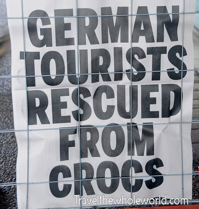 News Germans Crocodiles