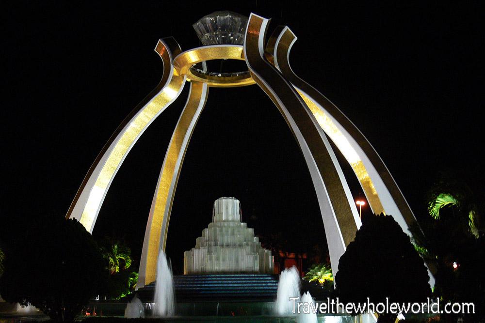 Brunei Jerudong Crystal Arch